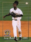 2015 Charleston RiverDogs - Jorge Mateo 1st team set